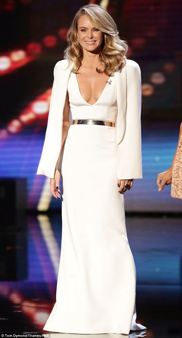 Image result for amanda holden white dress