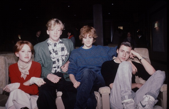 Molly Ringwald, Anthony Michael Hall, Ally Sheedy and Judd ...