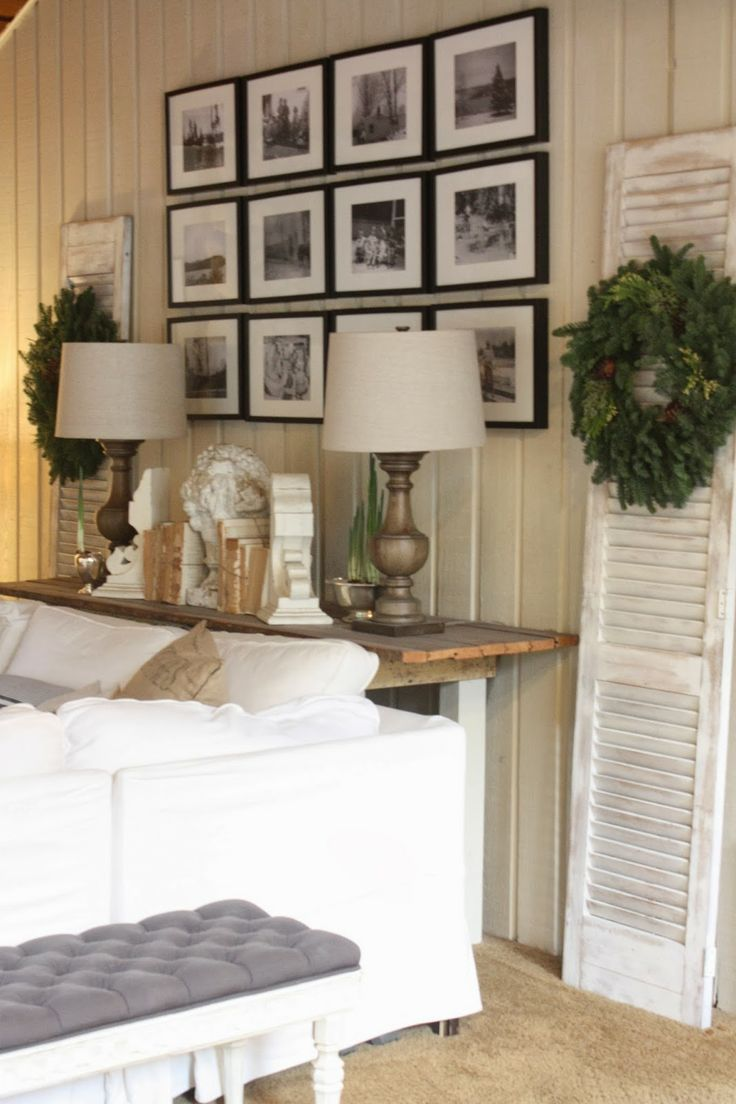 Sofa Table Behind Couch Against Wall Home Office Furniture