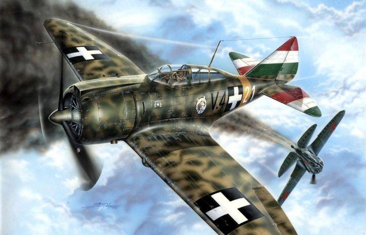 1941 Reggiane Re 2000 I. serie Heja I, Hungría - Stan Hajek -Special Hobby