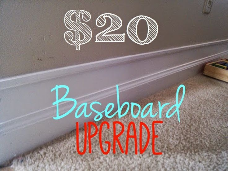 Our Secondhand House The Best Diy Baseboard Upgrade For