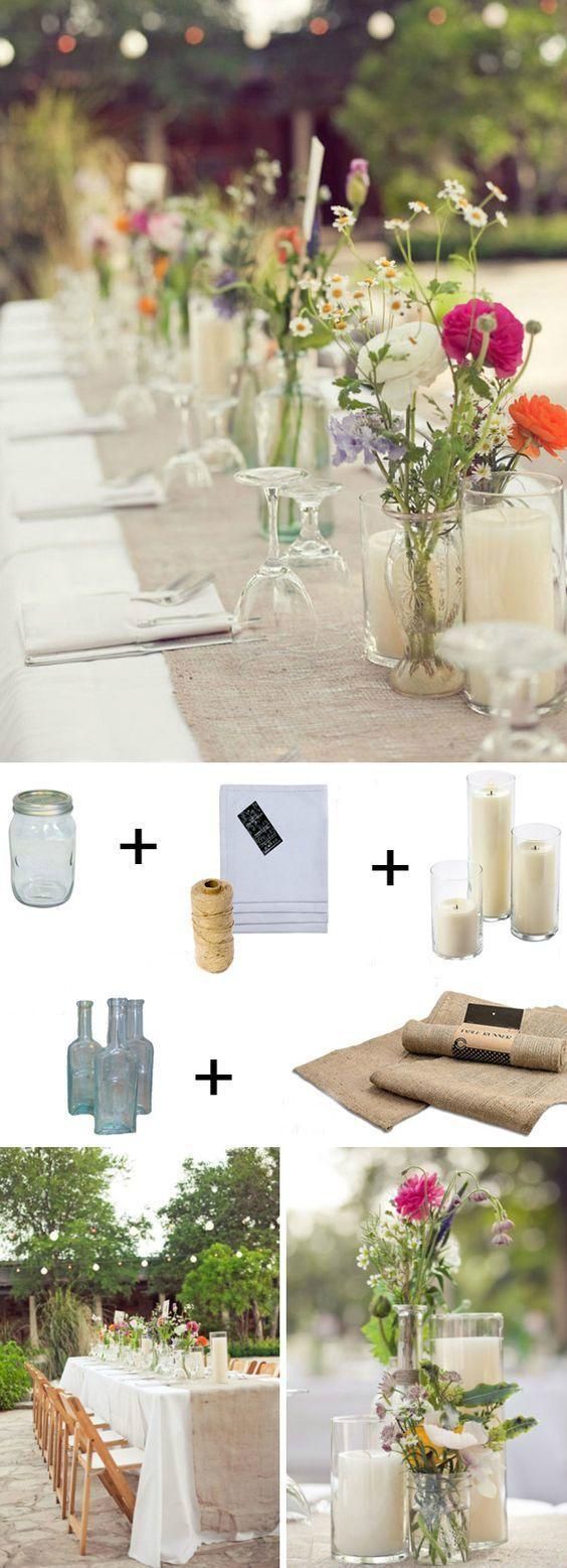 Vintage Wedding: DIY Upcycling Ideen für eine atemberaubende Dekoration #decoration #ide