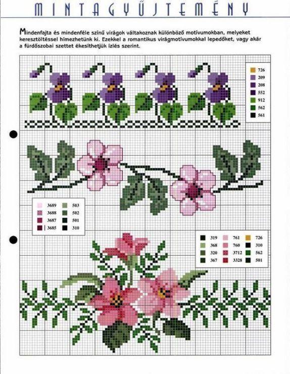 "Gallery.ru / Фото #106 - diversos - geminiana [   ""Cross stitch borders--violets, cherry-blossoms and stargazer lilies!"",   ""En SEÑAR Manualidades added 304 new... - En SEÑAR Manualidades"",   ""flower borders Gallery.ru / Фото - архив рисунков 2 - logopedd"",   ""Belt pattern"",   ""flowerss"",   ""Flowers"" ] #<br/> # #Cross #Stitching #Patterns #Free,<br/> # #Cross #Stitch #Borders #Pattern,<br/> # #Crosstitch #Edging #Border,<br/> # #Cross #Stitch #Flower #Border,<br/> # #Cross #Stitch #Patterns…"