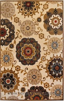 CLEARANCE Area Rug, Cream Contemporary Medallion Carpet 8X10 98367 - http://www.ebay.com/itm/CLEARANCE-Area-Rug-Cream-Contemporary-Medallion-Carpet-8X10-98367-/401051824735 #arearugs