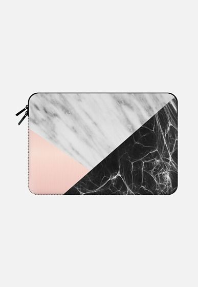 Marble Collage Macbook Air 13 sleeve by Emanuela Carratoni | Casetify