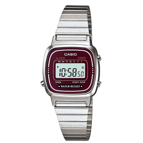 LA670WEA-4EF Retro Casio horloge | goedkoopste Casio online http://www.kish.nl/Casio-LA670WEA-4EF-retro/