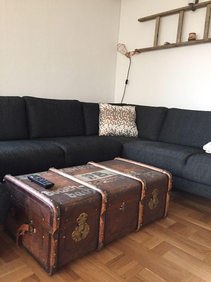 Nyt sofabord (kuffert indført omkring 2 verdenskrig)