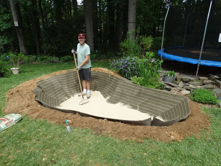 How to create a backyard pond step by step koi pond for How to design a pond