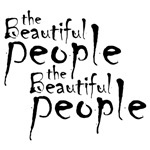 "Designed especially for Marilyn Manson fans... ""the beautiful people, the beautiful people"""