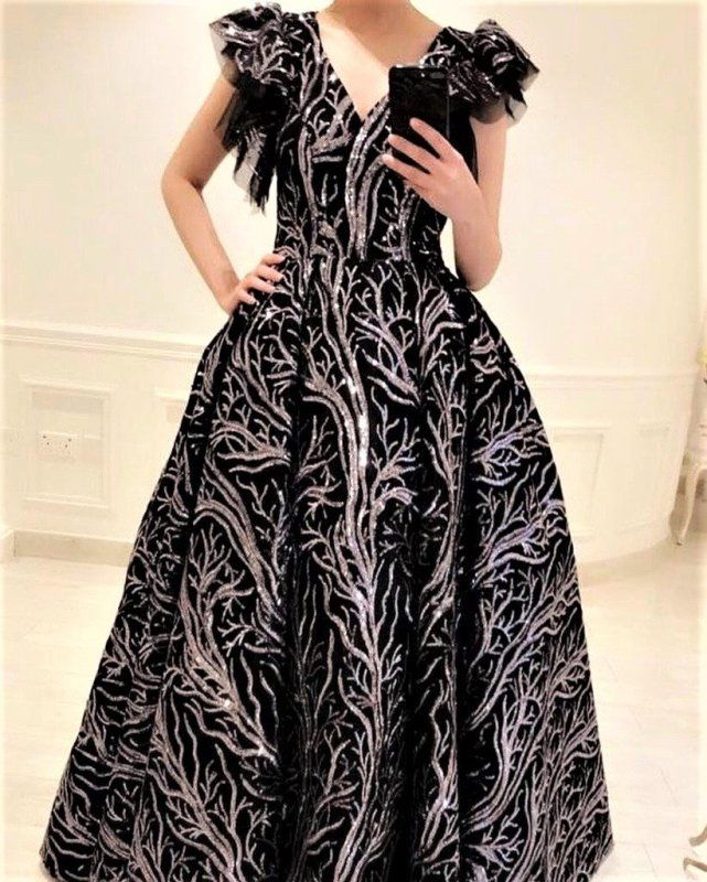 قماش فستان سهرة تل اقمشة فساتين السهرة Sr4pa Dresses Maxi Dress Fashion