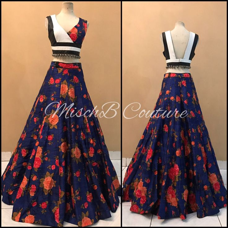 Eccentric Hybrids lehenga by MischB Couture
