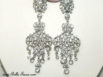 22 best Wedding Earrings images on Pinterest | Wedding earrings ...