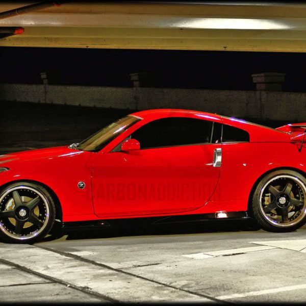 Nissan 350z Nismo V2 Style Carbon Rear Spoiler Nissan 350z Nissan Spoiler