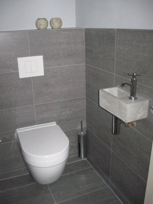 17 beste idee n over grijze badkamers op pinterest kleine badkamer renovaties grijze - Inrichting van toiletten wc ...
