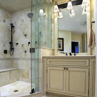 Bathroom tile patterns design ideas pictures remodel for Colonial bathroom ideas