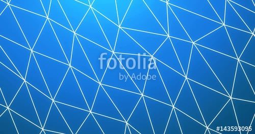 """#Download the #royalty-free #video """" #Seamless Loopable #Low #Poly Triangular #Background Rendered #Animation #Intro Video in Modern Blue"""" created by artislife at the best price ever on Fotolia.com. Browse our cheap image bank online to find the perfect #"""