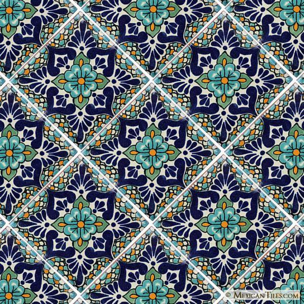 Mexican Tile - Polanco 2 Mexican Tile                                                                                                                                                      More