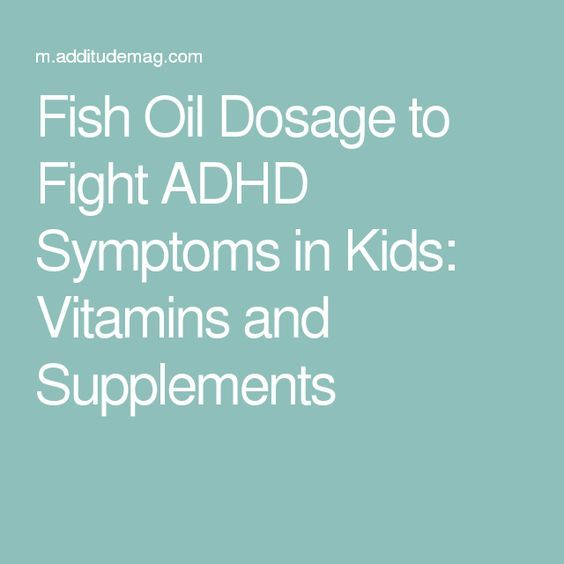 Best 25 adhd supplements ideas on pinterest adhd for Fish oil adhd