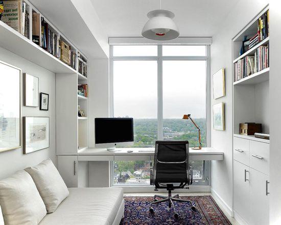 Small Office On White Condo