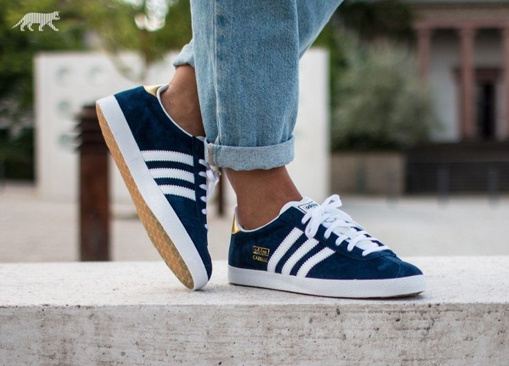 navy blue adidas gazelle