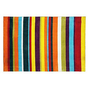 Home Collection Alfombra rayas multicolor 160 x 230 cms