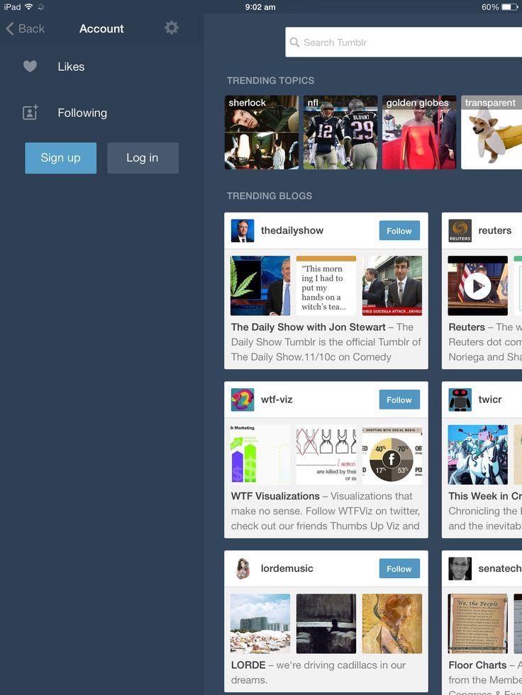Tumblr Login