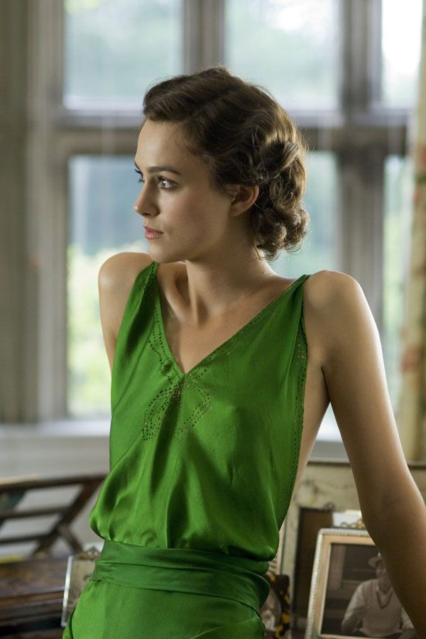 Atonement's green dress deserves all the accolades, bright, clear spring