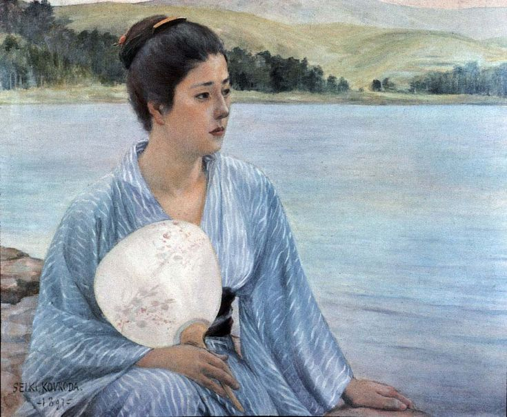 Seiki, by the lake, 1897