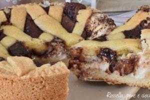 Crostata Nutella e Mascarpone poco dolce
