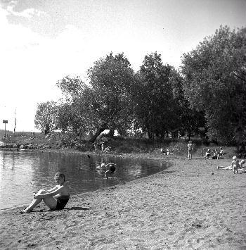 Pyynikin uimarantaa 1940-luvulla