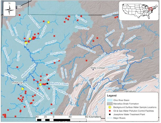 Radioactive Wastewater From Fracking Is Found in a Pennsylvania Stream   Surprising Science