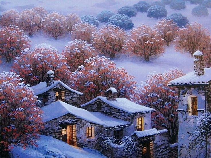158 Best Snowfall Images On Pinterest