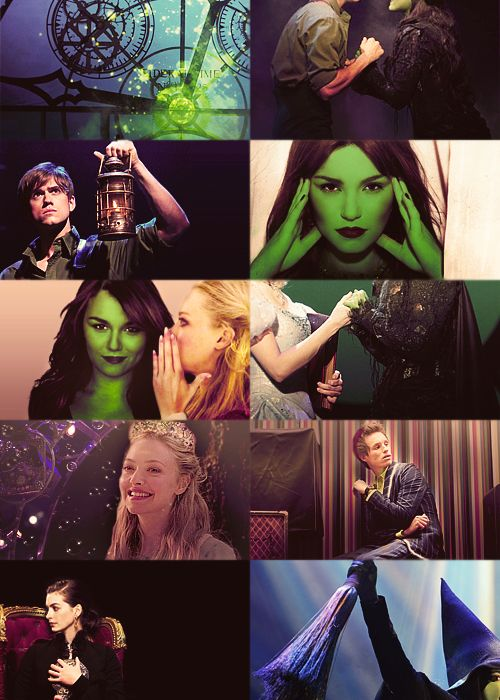 Take the cast of Les Mis, and put them in Wicked! ...although in all serious I'd probably kill to see Aaron Tveit as Fiyero and Sam Barks as Elphaba.