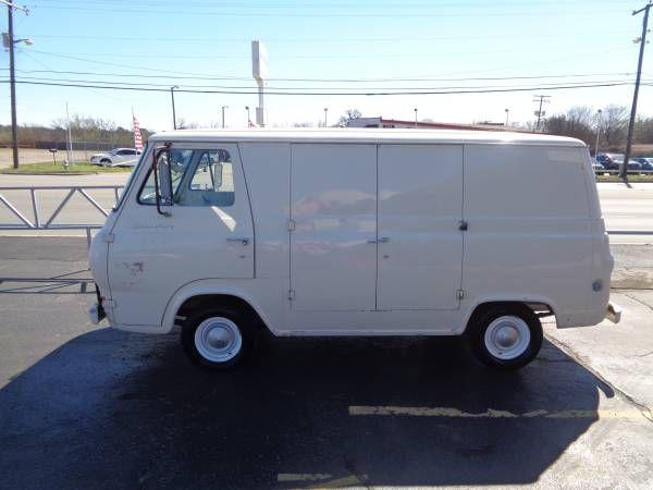 Https Dallas Craigslist Org Ftw Cto D Arlington 1966 Ford Econoline Van 8 6830831433 Html Van Ford Valve Cover