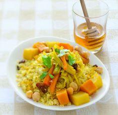 Cuscus ricco alle spezie con miele millefiori - Tutte le ricette dalla A alla Z - Cucina Naturale - Ricette, Menu, Diete