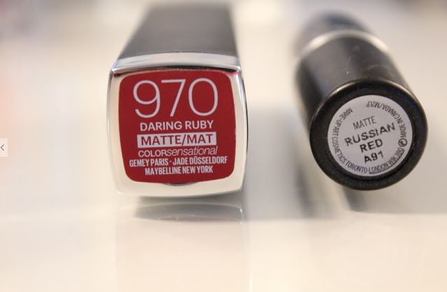 """hearttobreathe: MAC """"Russian Red"""" Dupe"""