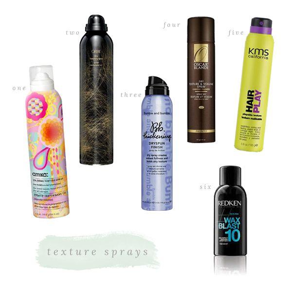 Texturizing Sprays