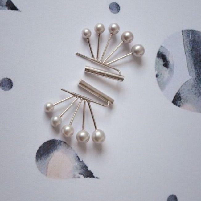 Butterfly earrings from Pernille Lauridsen