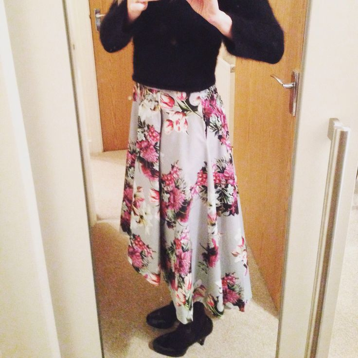 By Hand London Flora skirt hack