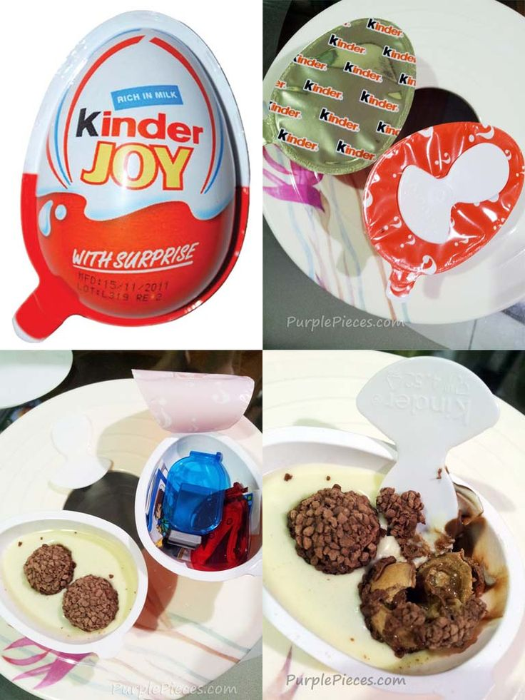 Kinder Joy Surprise Eggs are a hit with the kids