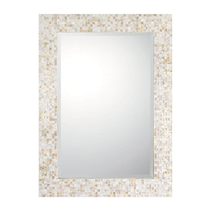 Mother Of Pearl Mosaic Mirror St Ives Home Decor