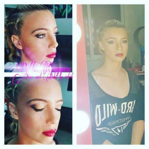Maquillaje de egresada #prom #makeup