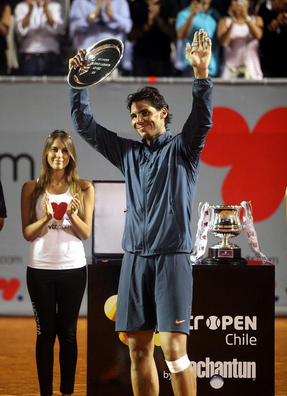Rafael Nadal @JugamosTenis #tennis #tenis #ATP Viña del Mar