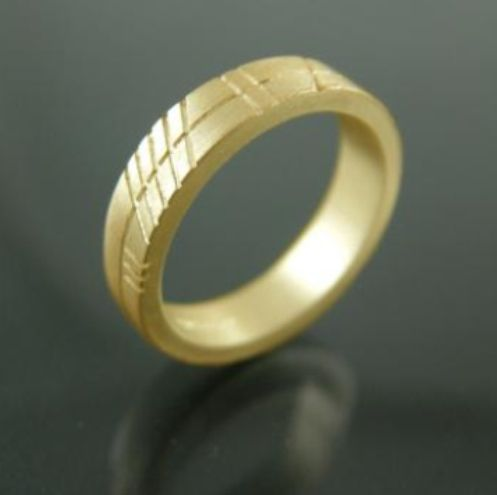 gold design bands shaped ogham and engraved eva dorney rings handmade band titanium jewellery goldsmith wedding contemporary white