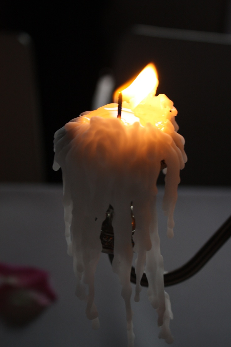 melting candle wax physical or chemical change