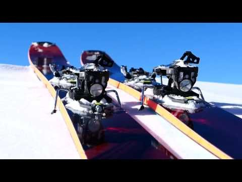 Freeride Ski build - YouTube