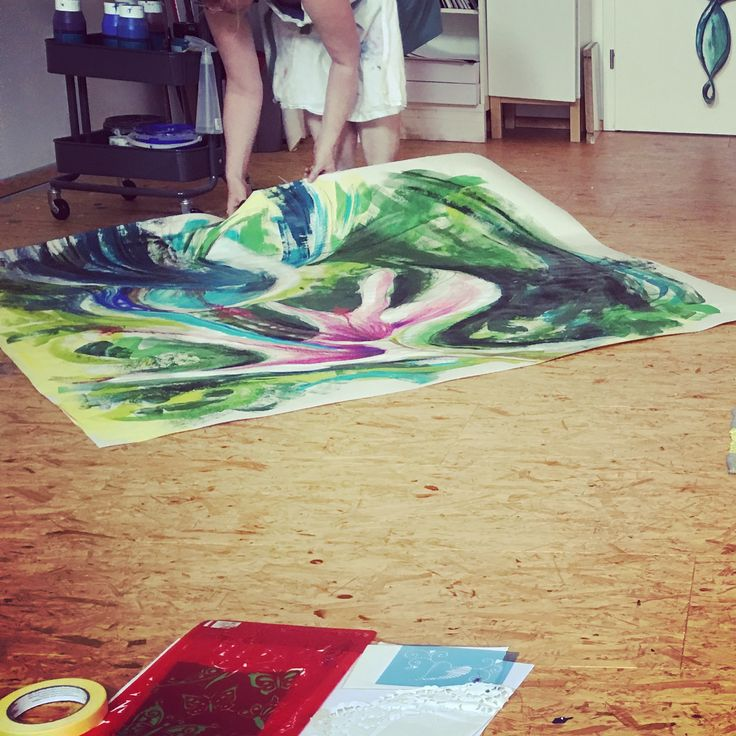 Colour4yourLife Workshop zum Intuitiven Malen
