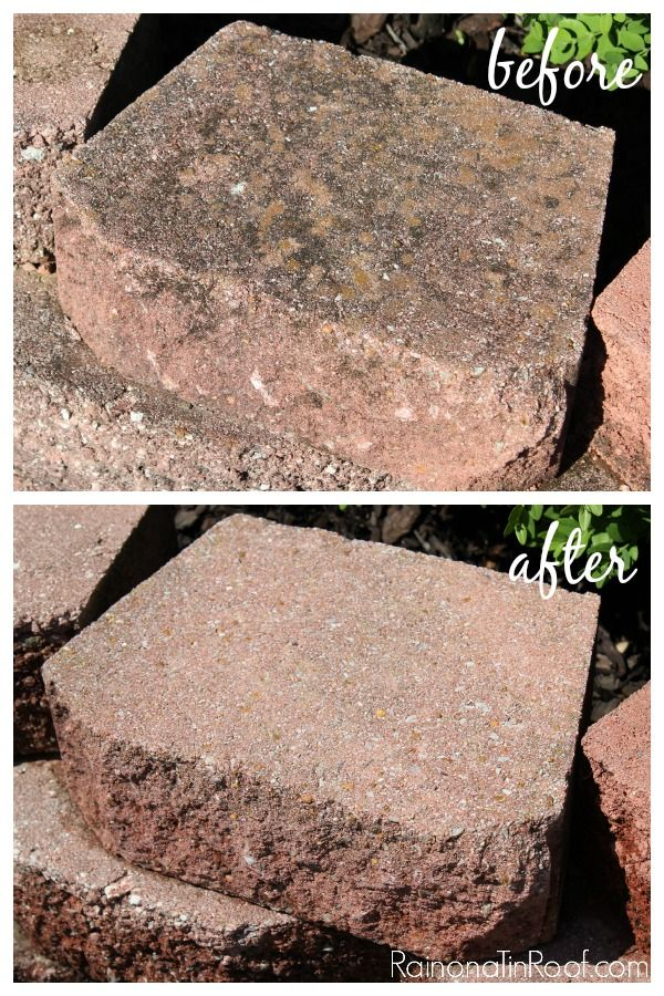 Retaining Wall Block Cleaner : Ideas about clean concrete on cleaner cleaning