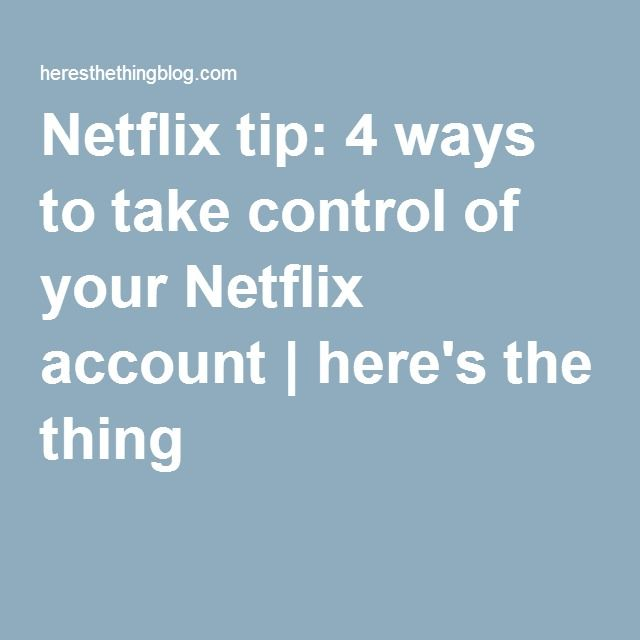 how to get a free netflix account hack