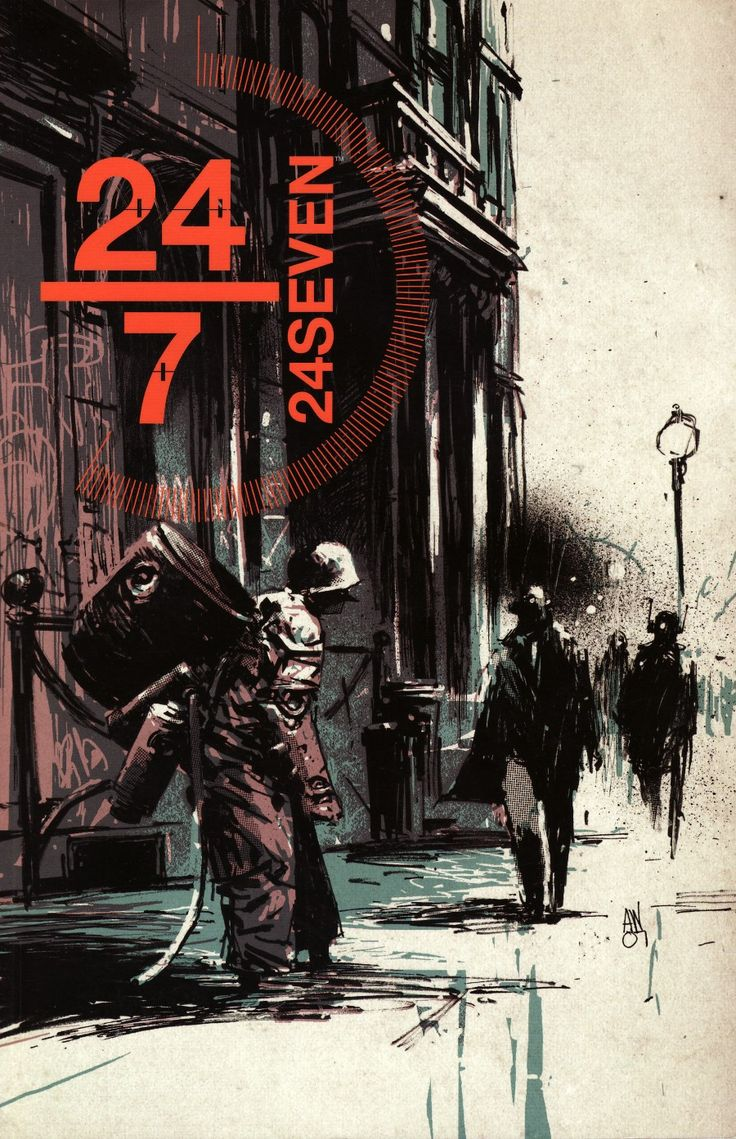 24seven cover by Ashley Wood